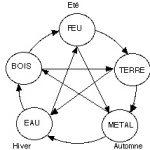 Les Cinq Éléments - Cycles d'Engendrement et de Domination